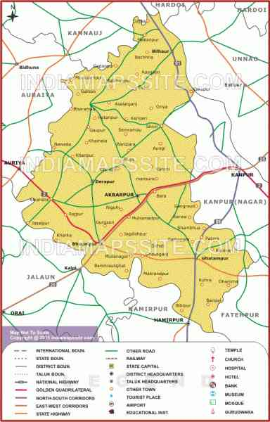 kanpur road map 15 Kanpur Road Map