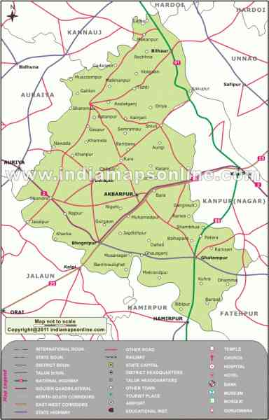 kanpur road map 224 Kanpur Road Map