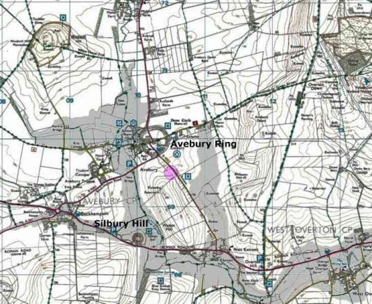 kennet map 553 Kennet Map