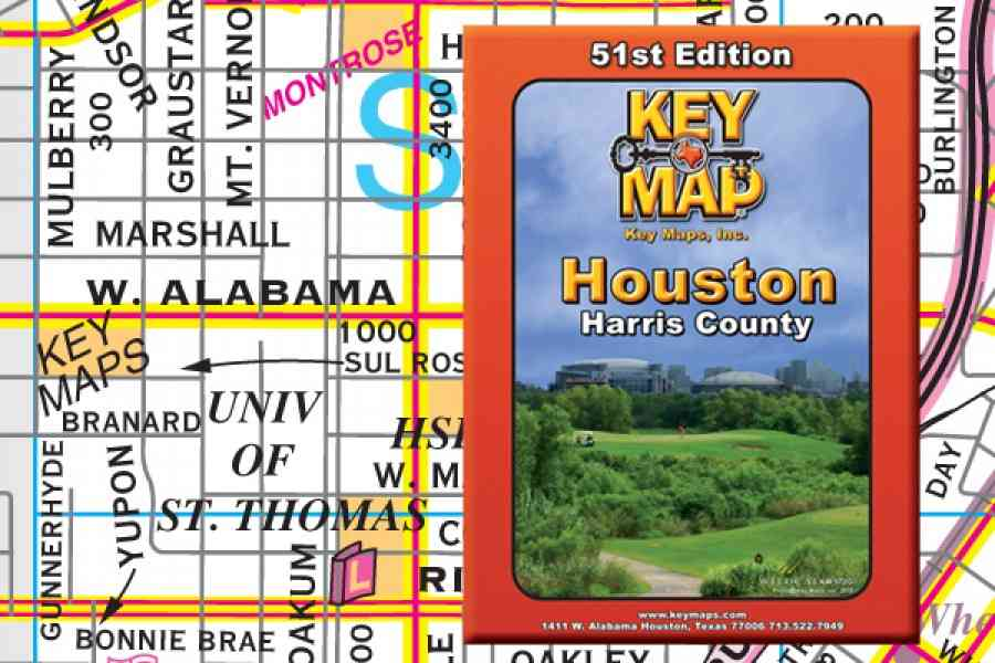 Houston Key Map Indiana Map