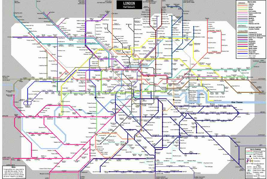 london tube trains map 2 London Tube Trains Map