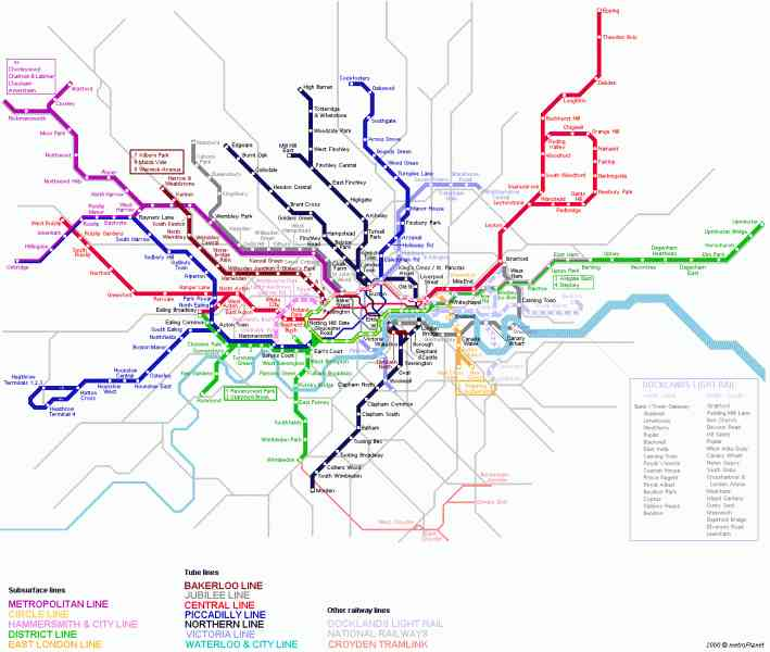 london tube trains map 43 London Tube Trains Map