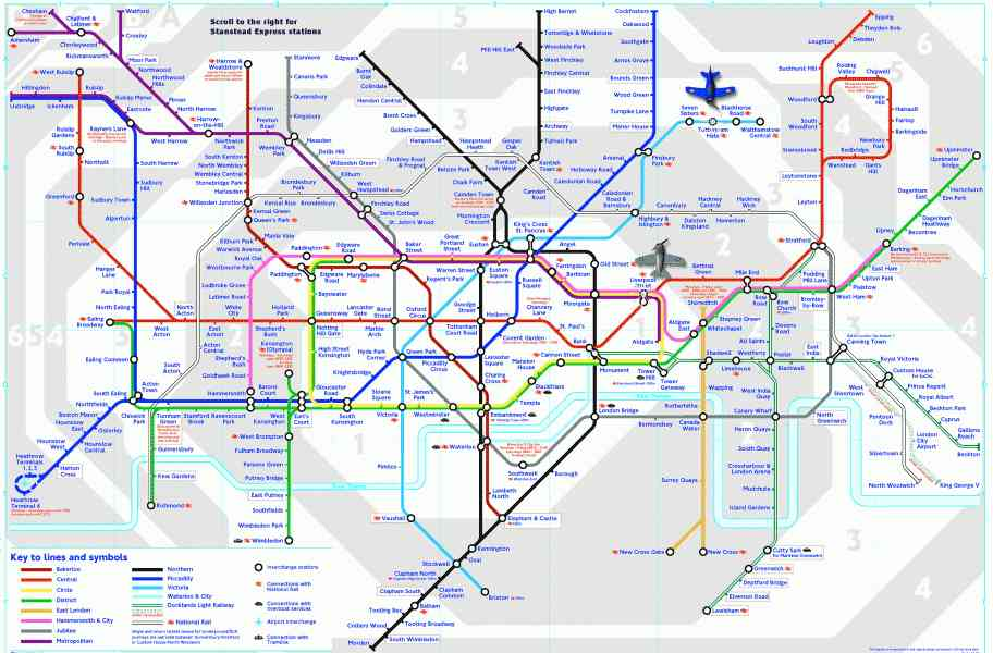 london tube trains map 361 London Tube Trains Map
