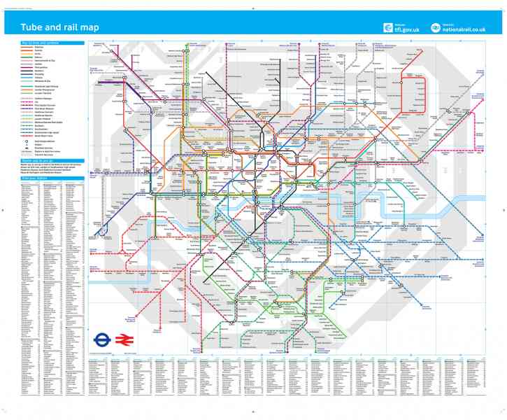 london tube trains map 171 London Tube Trains Map