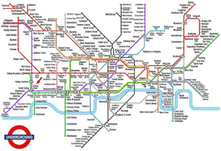 London Underground Route Map Holidaymapq ®: London Subway System Map At Infoasik.co
