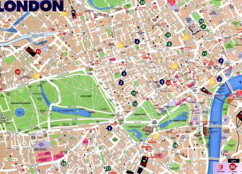 london visitor map