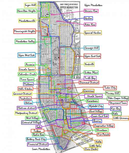 Times Square Zip Code Map  Zip Code Map