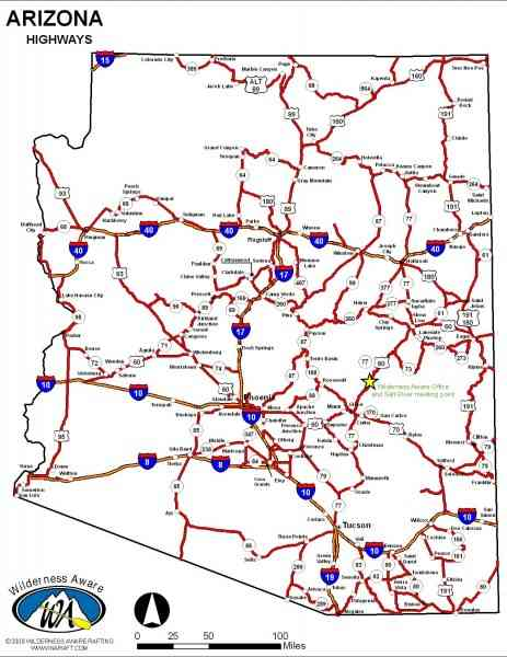 map arizona 111 Map Arizona