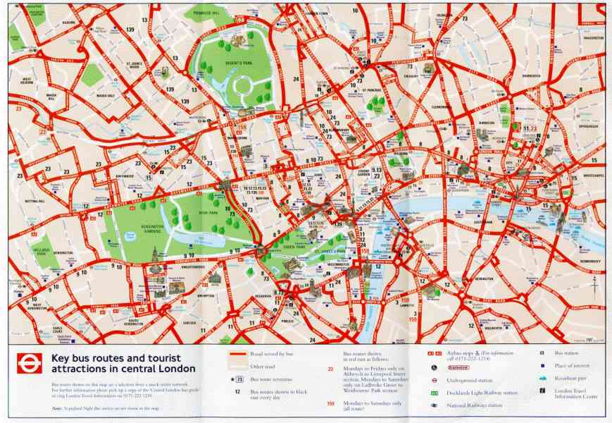 Map Of London Centre.Central London Tourist Attractions Map