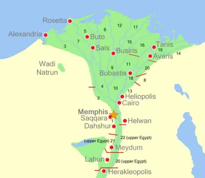 Map Memphis Egypt Map Holiday Travel HolidayMapQcom - Usa map memphis