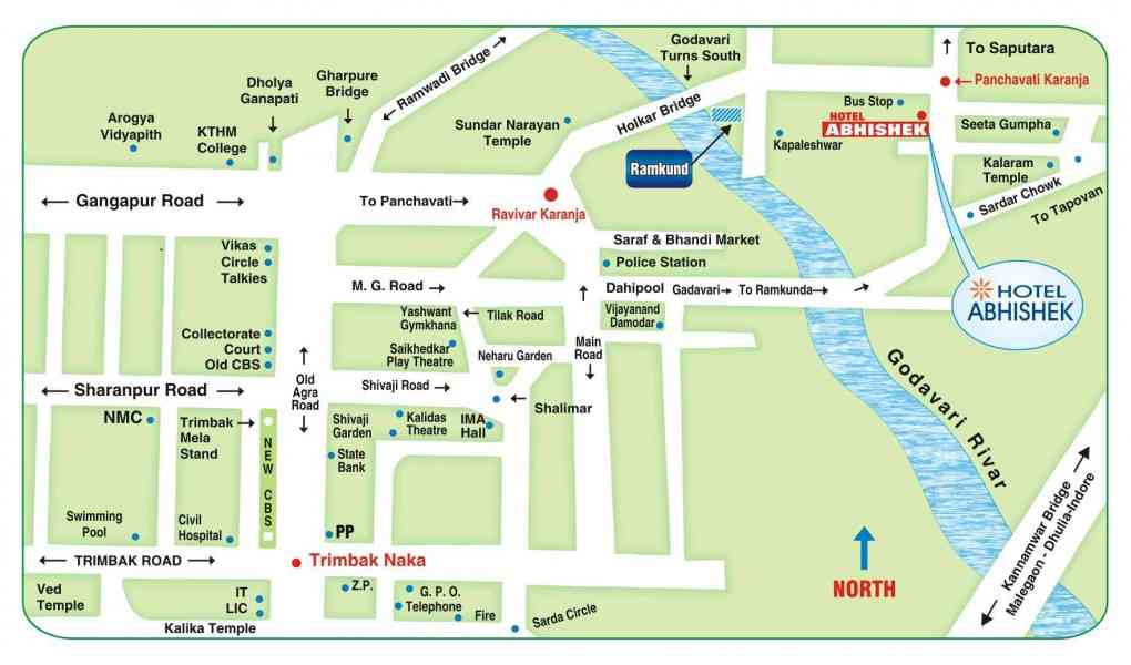 map nashik city 9 Map Nashik City