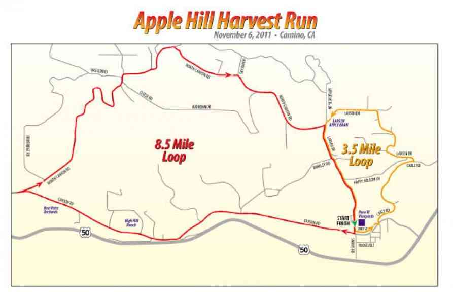 Map Of Apple Hill 76 Map Of Apple Hill
