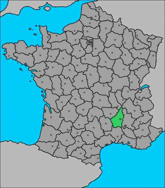 map of ardeche 779 Map Of Ardeche