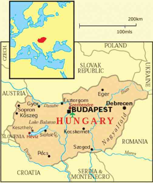 Map of budapest hungary holidaymapq map of budapest hungary gumiabroncs Images