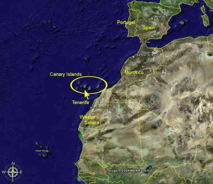 map of canary island 8 Map Of Canary Island