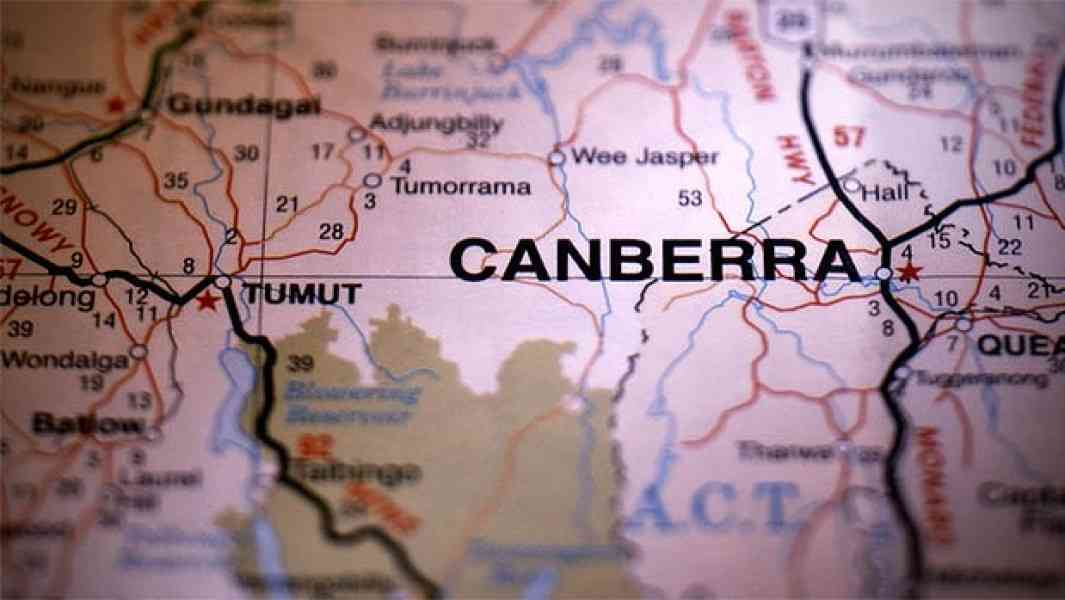 Map Of Canberra Suburbs 529 Map Of Canberra Suburbs