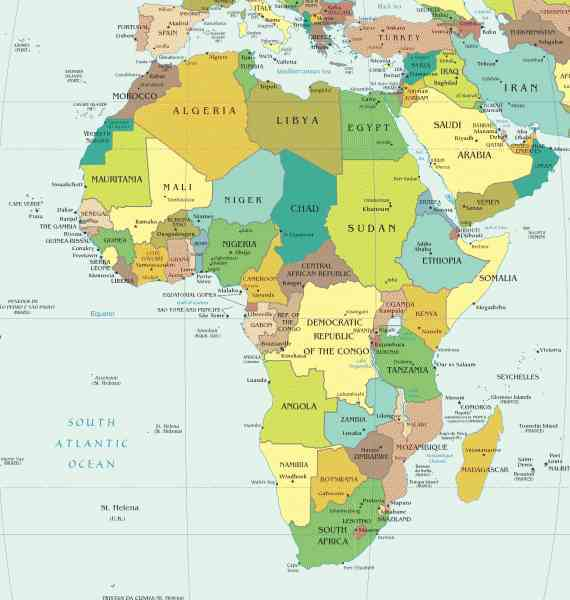 map of cities in africa 201 Map Of Cities In Africa