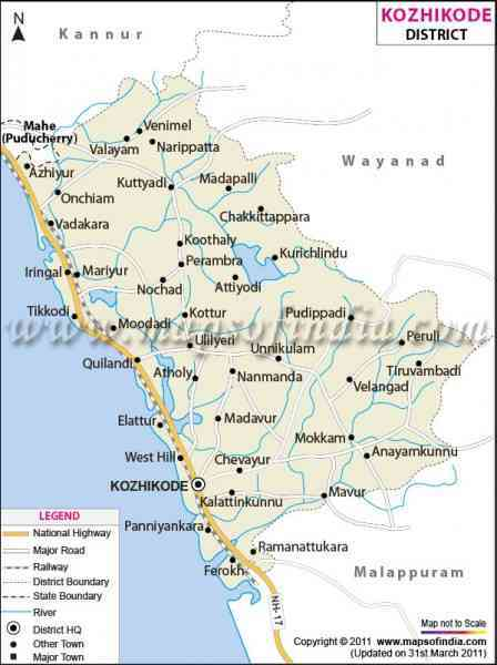 Map Of Coimbatore City 11 Map Of Coimbatore City