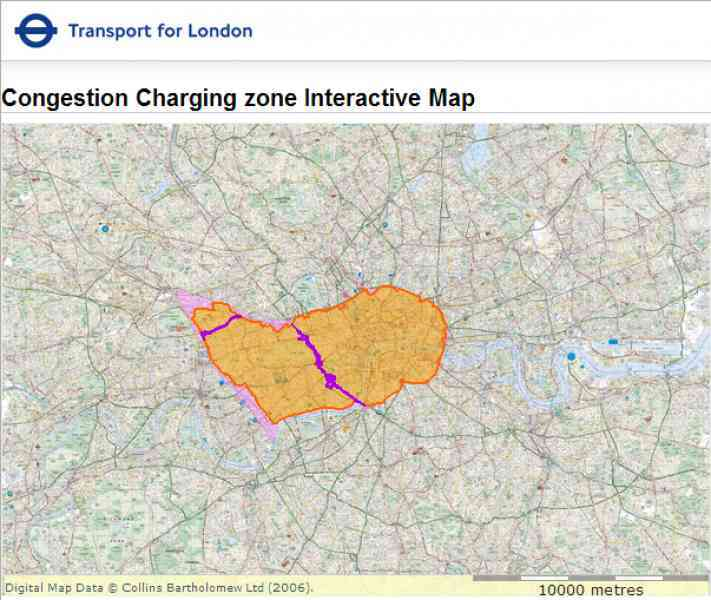 map of congestion zone in london 292 Map Of Congestion Zone In London