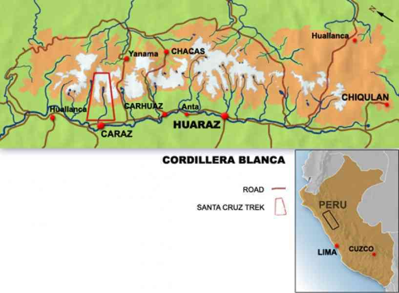 Map Of Cordillera 129 Map Of Cordillera