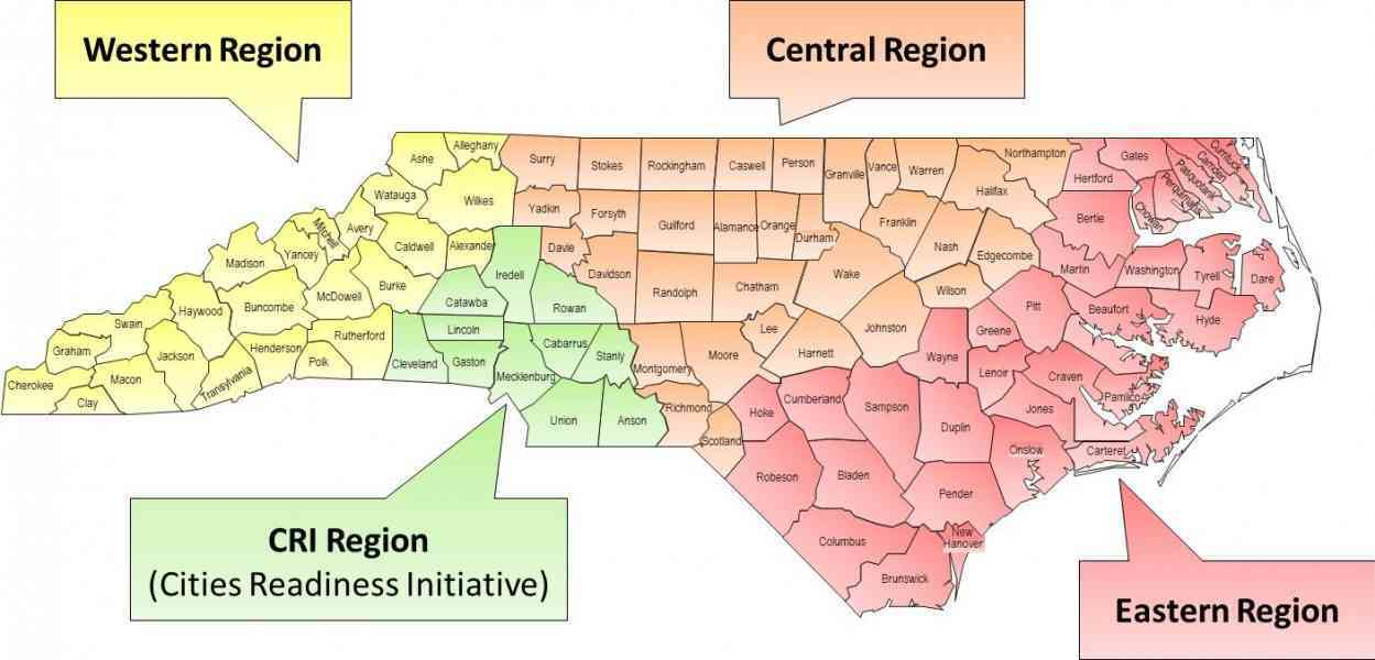 Map Of Counties Nc Map Holiday Travel HolidayMapQcom - United states map with counties