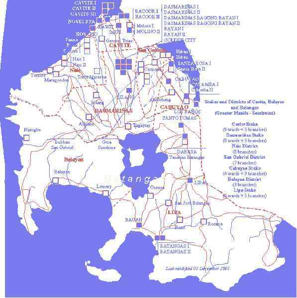 map of dasmarinas cavite 97 Map Of Dasmarinas Cavite