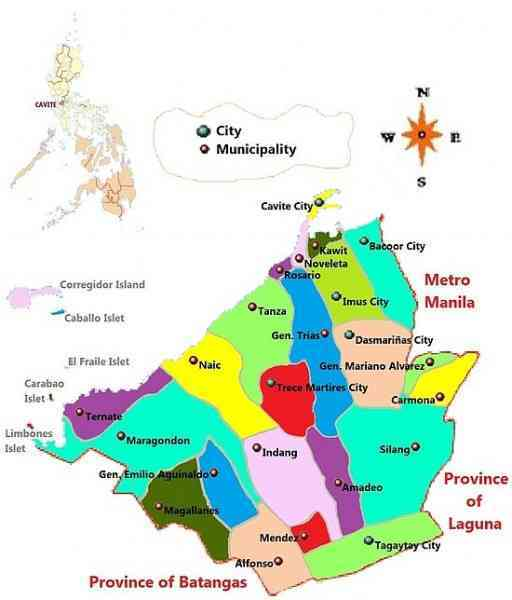 map of dasmarinas cavite 115 Map Of Dasmarinas Cavite