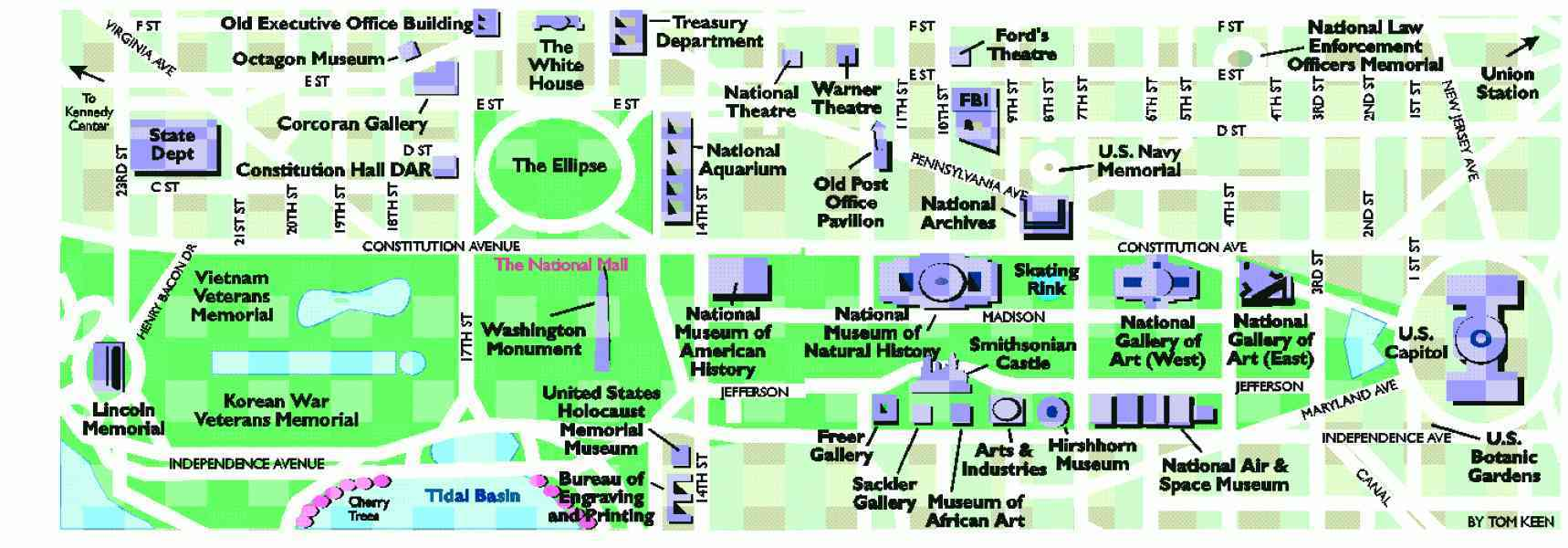 Mall Dc Map.Map Washington Dc Mall Bnhspine Com