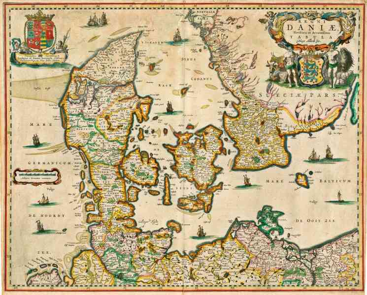 map of denmark 353 Map Of Denmark