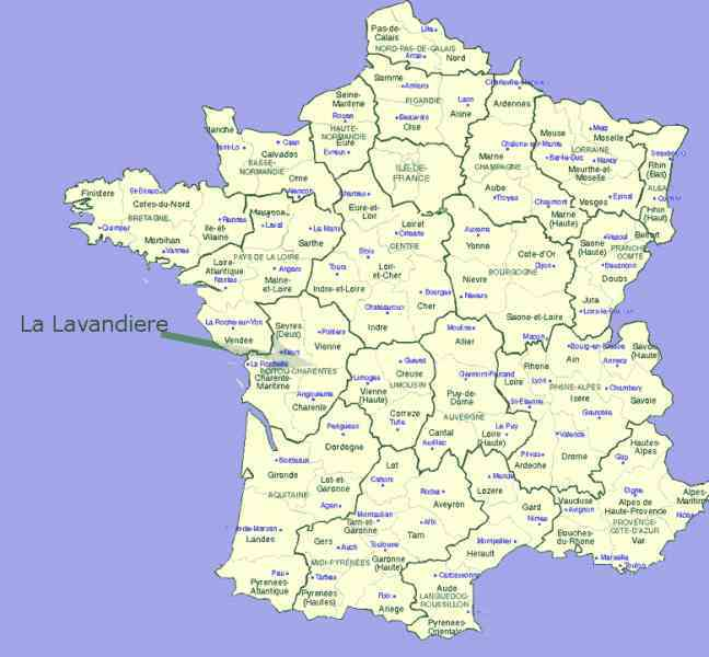 map of departments in france 340 Map Of Departments In France