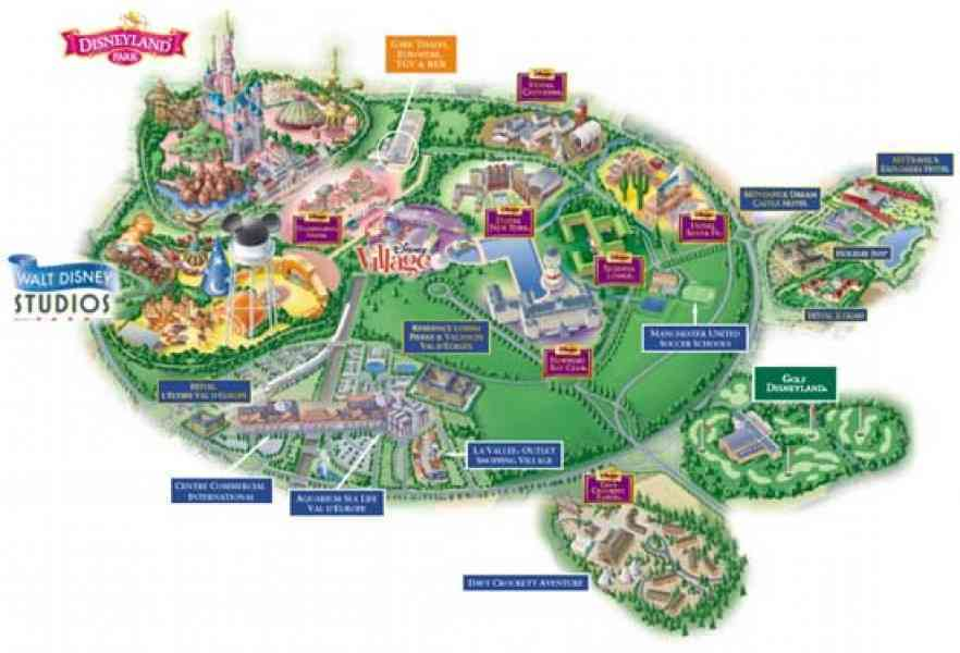 Map Of Disney World Hotels Holidaymapq Com