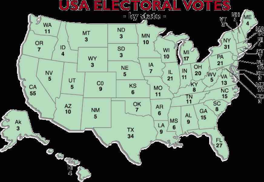 map of electoral votes 2012 180 Map Of Electoral Votes 2012