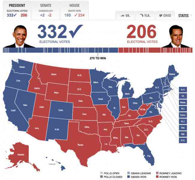 map of electoral votes 498 Map Of Electoral Votes