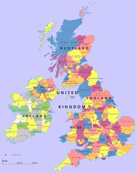 map of england 1500 ad six flags new