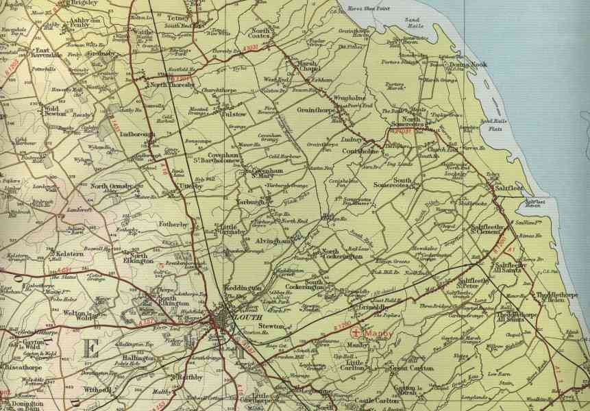 Map Of England Lincolnshire 156 Map Of England Lincolnshire