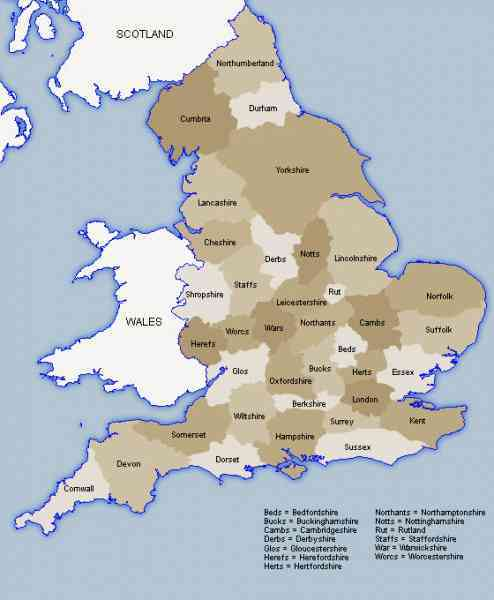 Es County England Map – hairstyle on