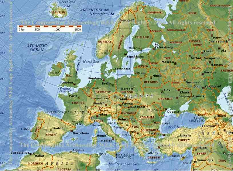 Map Of Europe Google Maps Map Holiday Travel