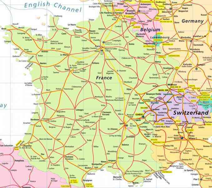 map of france and italy 31 Map Of France And Italy