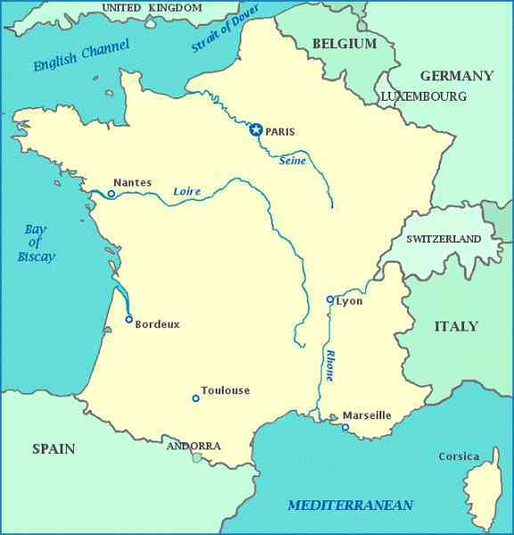map of france and italy 160 Map Of France And Italy