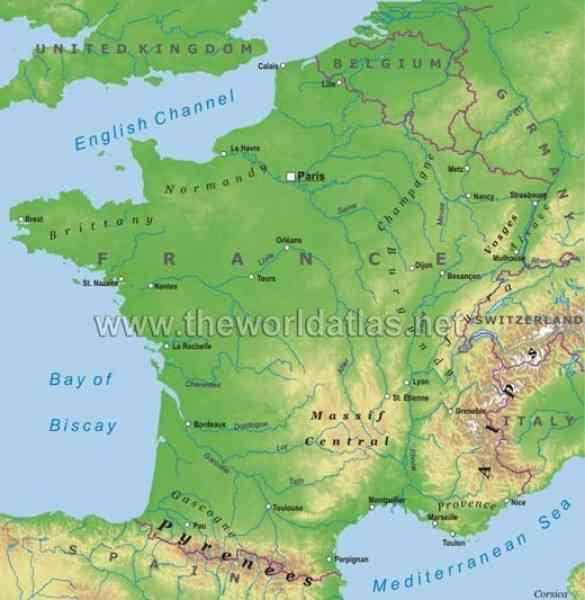 map of france and italy 109 Map Of France And Italy