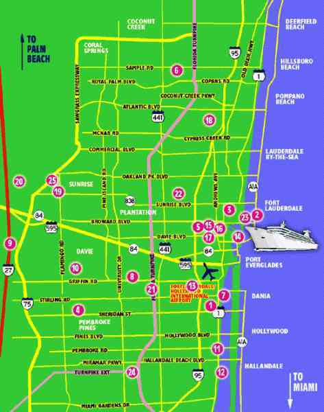 map of ft lauderdale airport 105 Map Of Ft Lauderdale Airport