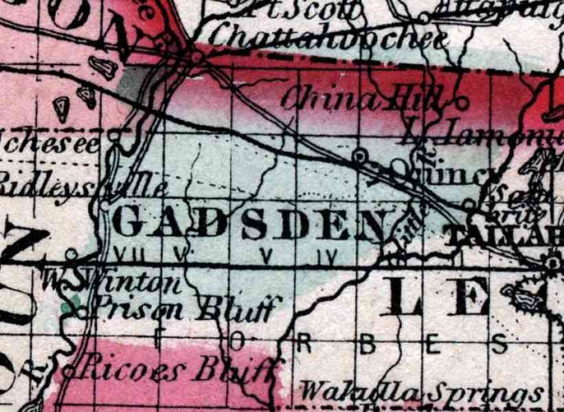 map of gadsden 57 Map Of Gadsden