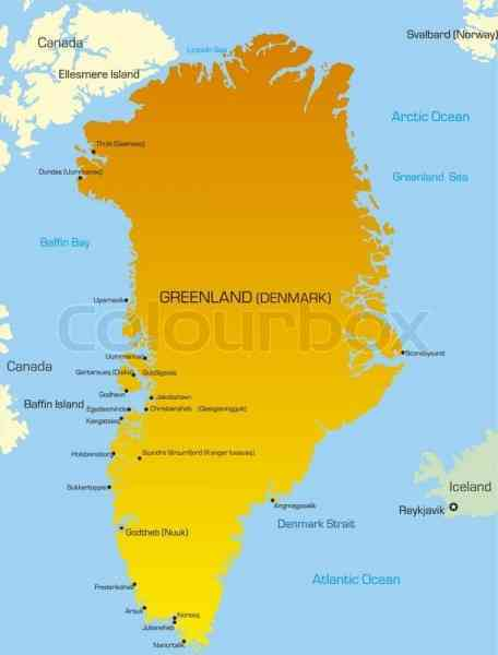 map of greenland 67 Map Of Greenland