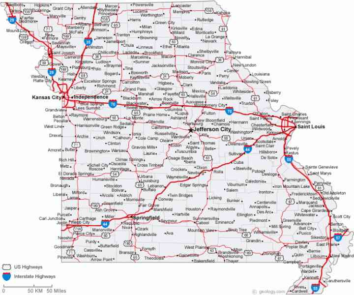 Map Of Illinois Cities Map Holiday Travel HolidayMapQcom - Illinois map with cities