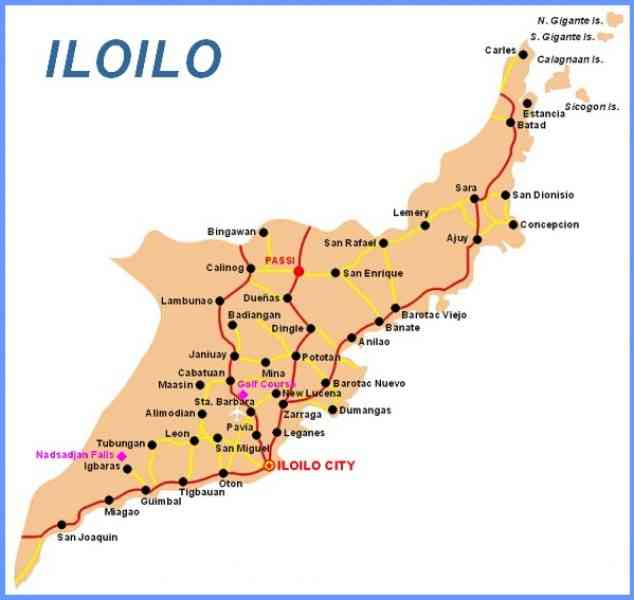 map of iloilo city 9 Map Of Iloilo City