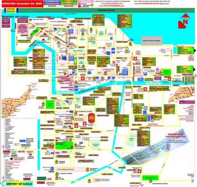 map of iloilo city 41 Map Of Iloilo City