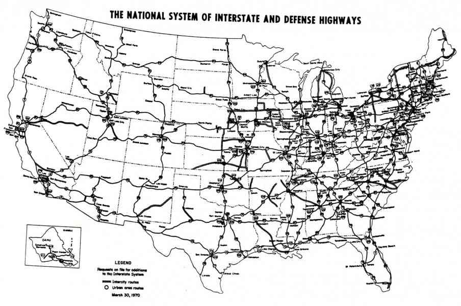 map of interstate 40 holidaymapqcom