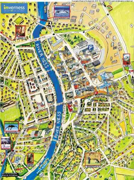 map of inverness 5 Map Of Inverness