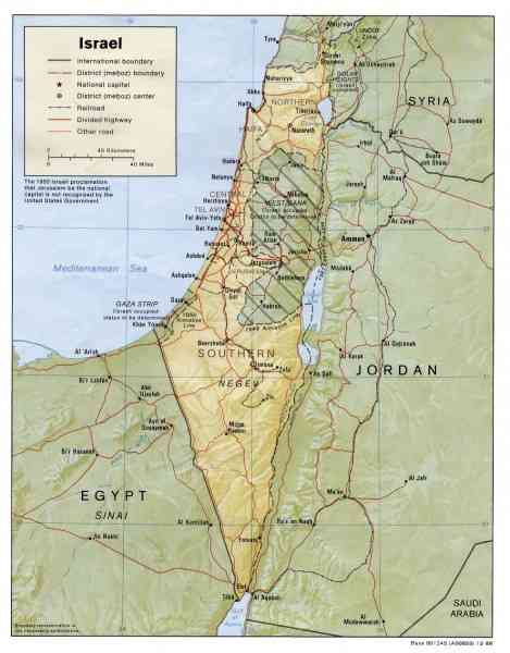 map of israel and palestine 185 Map Of Israel And Palestine