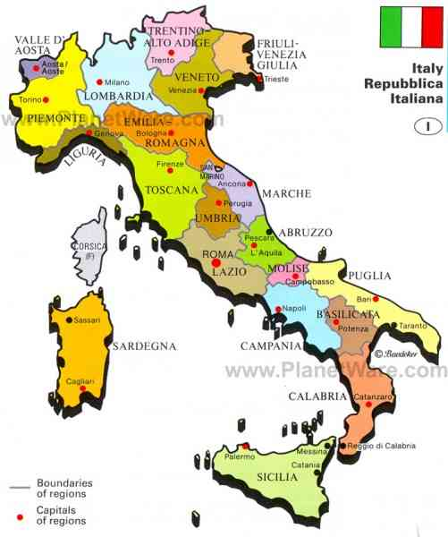 Map Of Italy And Rome Map Holiday Travel HolidayMapQcom - Physical map of italy